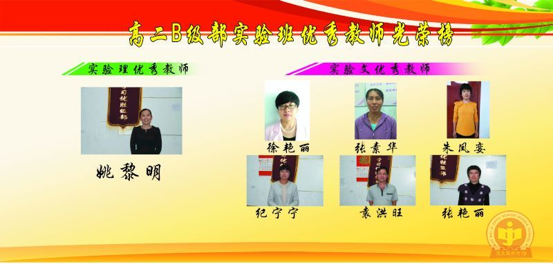 普通版优秀教师光荣榜,和月三考试学生光荣榜等几个板块.
